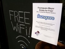 foursquare flyer
