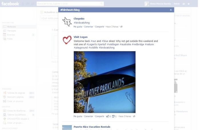 hashtags de facebook marketing online teruel alcañiz elena rueda